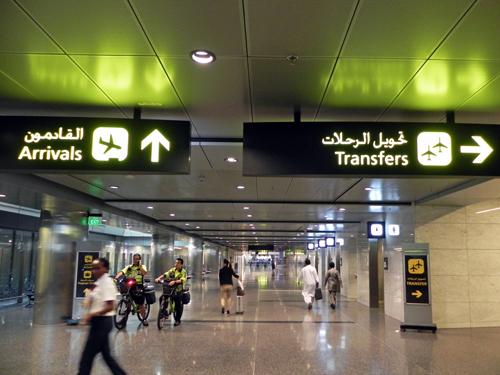 カタール航空の本拠地、新ドーハ...
